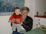 Ken and his grandson Harry.