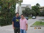 Stelios and Kostas in Athens.