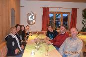 Dinner with Ulf, Wolfgang and family